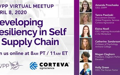 GWPP Virtual Meetup – Developing Resiliency in Self & Supply Chain