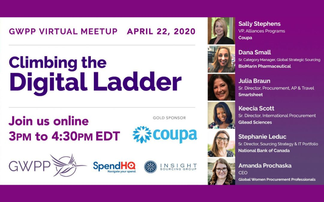 GWPP Virtual Meetup – Climbing the Digital Ladder