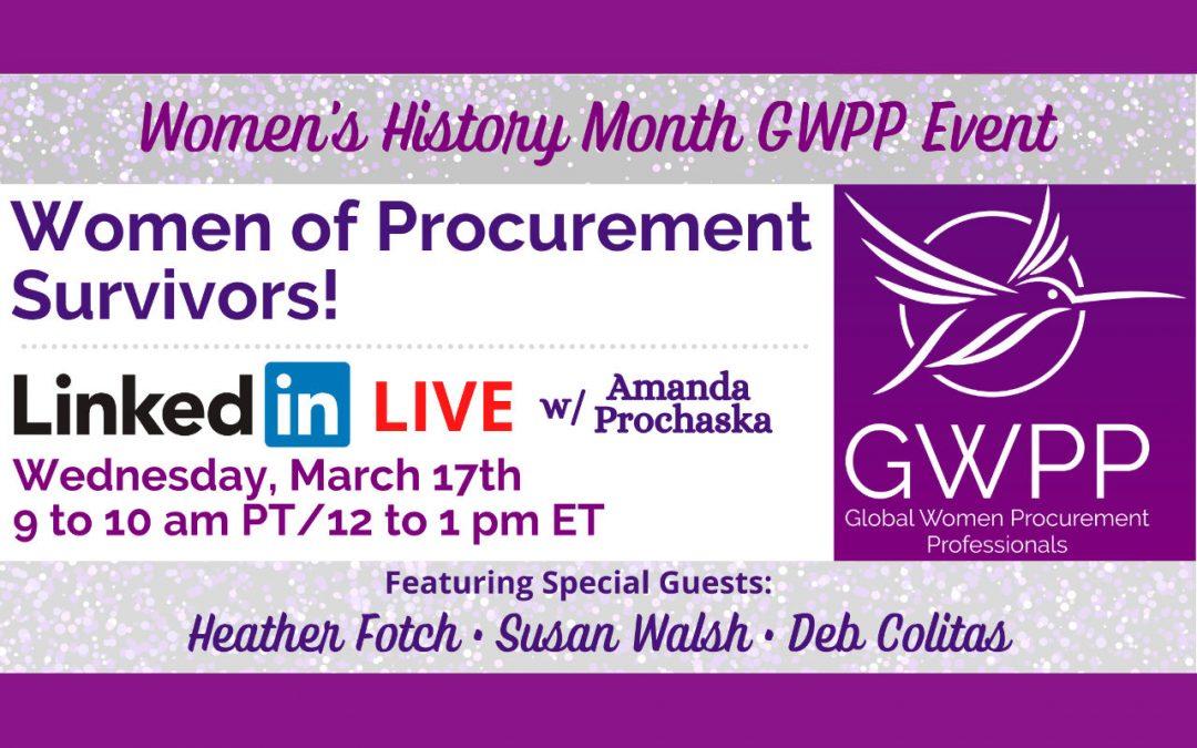 Women of Procurement – Survivors