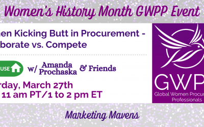 Women Kicking Butt in Procurement – Collaborate vs Compete